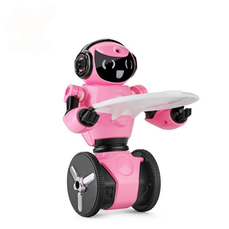 купить Boys F4 Intelligent Gesture Recognition Robot Mobile Phone App Wifi Remote Control Toys Camera Walking Dancing Robot RC Model недорого