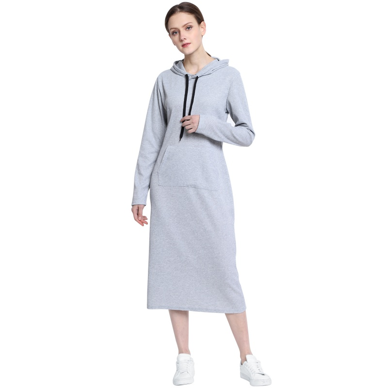 New Comfortable Long Sleeves Casual Screw Up Sexy Spring And Autumn Sweater Dress Womens Fashion O-neck Long Sweaters W4