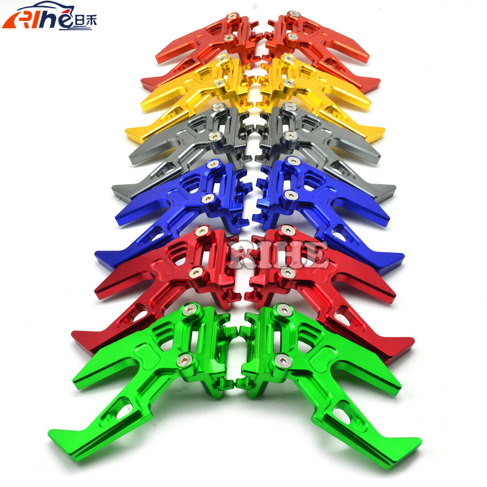 motorcycle CNC Chain Adjuster Aluminum Tensioner Roller Street Chopper moto chain adjuster for KAWASAKI ninja300 have 6colors dwcx motorcycle adjustable chain tensioner bolt on roller motocross for harley honda dirt street bike atv banshee suzuki chopper
