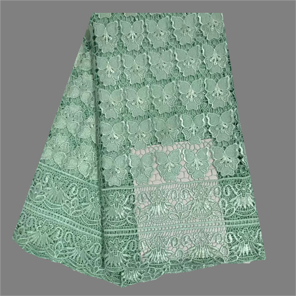 Elegant pattern lady dress cloth polyester water soluble lace fabric for fashion dress RFW3(5yards/lot)