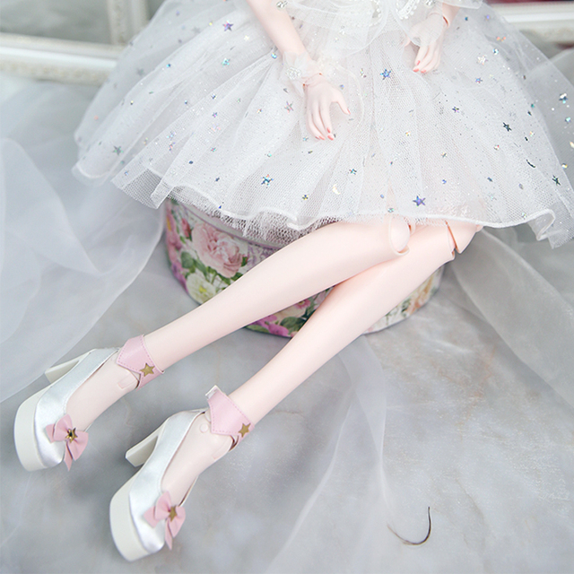 Shoes for 1/3 BJD Various styles of high heels 62mm gift toy free shipping