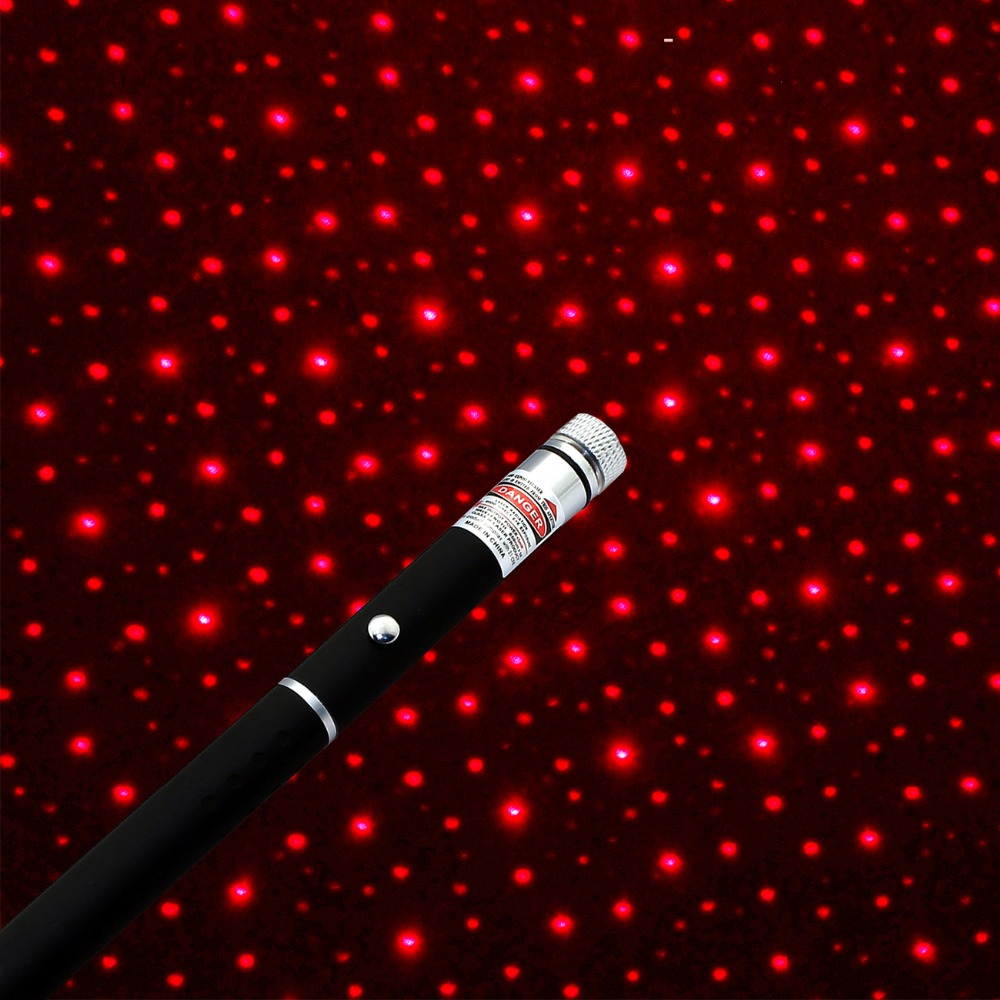 High Power Powerful 2in1 Red Laser Pointer Pen Puntero Laser 5mw Caneta Laser With Star Cap for Work Teaching Training
