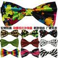 10 unids/lote alta calidad la novedad Mens único Tuxedo Bowtie de la pajarita corbata