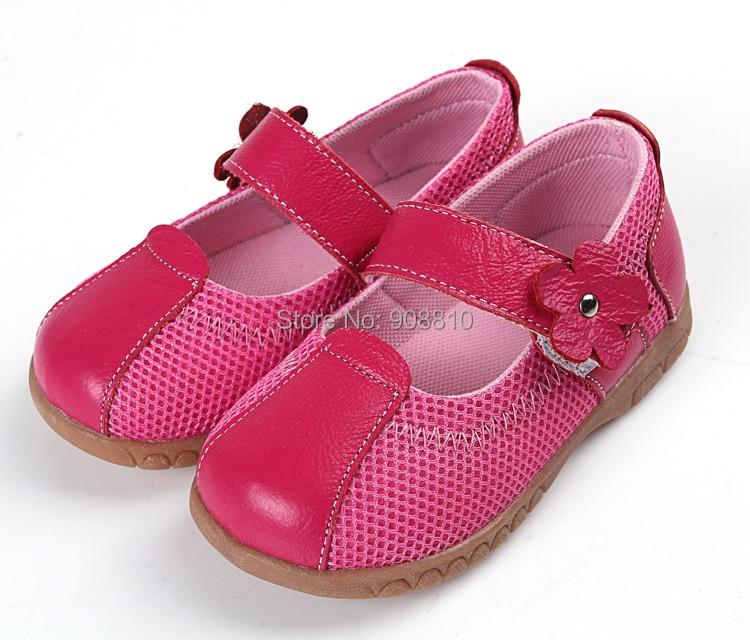 الفتيات الجلود أحذية رياضية أحذية الأطفال طفل الفتيات حذاء ماري جين مع زهرة الخفيفة ملعب أحذية ميني ووكر حذاء تنس