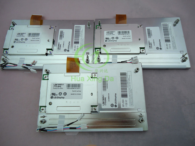 """Marke neue LB070WV1 (TD) (04) 7 """"zoll LB070WV1 TD04/LB070WV1 TD04 LCD screen display für Mercedes auto navigation GPS monitor"""