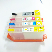1set for hp364 364XL Refillable Ink Cartridges For HP 3070A B209a B210A 5515 B010a B109d B109a B110c 5520 Photosmart C5324 C5383
