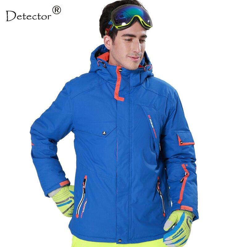 Prix pour Détecteur Hommes Ski veste Hight Étanche Randonnée en Montagne le Camping Veste Polaire Hight Coupe-Vent Veste de Ski