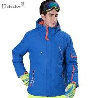 Detector Men Ski jacket Hight Waterproof Mountain Hiking Camping Jacket Fleece Hight Windproof Ski Jacket