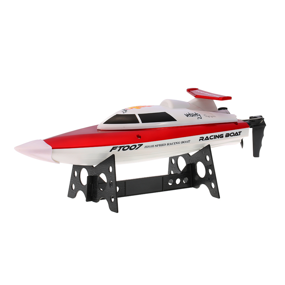 RC Toys FT007 2.4GHz 4CH 20km/h High Speed Racing Boats Electronic Radio Control Boat Ship Water Speedboat with Transmitter