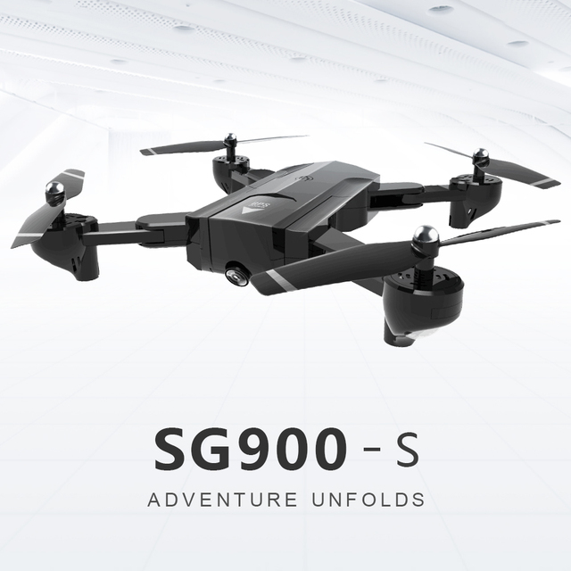 GPS Positioning SG900s RC Helicopter Foldable Drone With 720p 1080p WiFi Camera Automatic Follow Me Function Rc Quadcopter