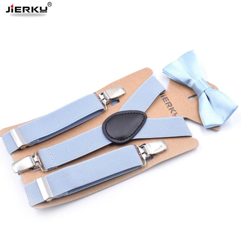 Baby Suspenders Kids Braces Bow Tie Boy's Suspensorio Elastic Adjustable Tirantes Bretelles Bow-knot With Suspenders
