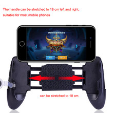 Mobile Phone Mobile Game Trigger Shooting Controller Pubg Fire Button Handle For Android iOS(China)
