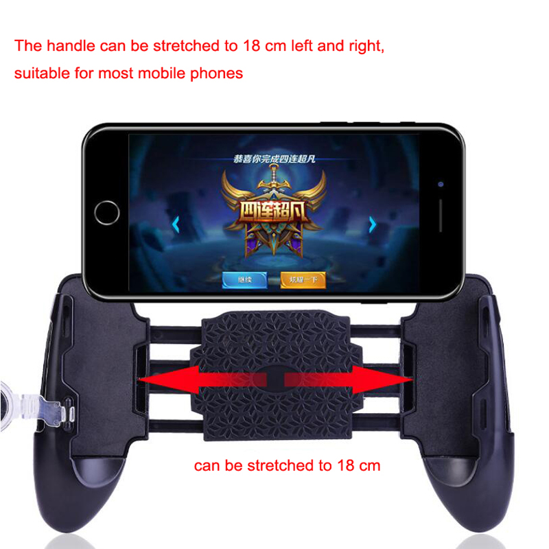 Mobile Phone Mobile Game Trigger Shooting Controller Pubg Fire Button Handle For Android iOS image