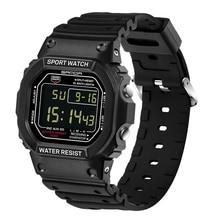 Impermeable Hombres Digital Reloj de Pulsera Electrónica Reloj LED Unisex Reloj Deportivo reloj deportivo horloges vrouwen