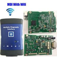 Otomatik Tarayıcı MDI opel Wifi Çoklu Teşhis Arayüz Mdi OBD2 G-M OBDII Tarayıcı Yazılım Olmadan Gerçek Araba Tanı-Aracı