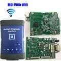 GM Mdi Auto Scanner Multiple Interface de Diagnóstico MDI opel Wi-fi OBD2 OBDII Scanner de Diagnóstico Do Carro-Ferramenta Sem Software Real