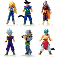 1pcs Boneca Dragon Ball Son Goku Super Saiyan Son Gohan PVC Figuras de Ação Collectible Modelo Toy Kids Presente(China)