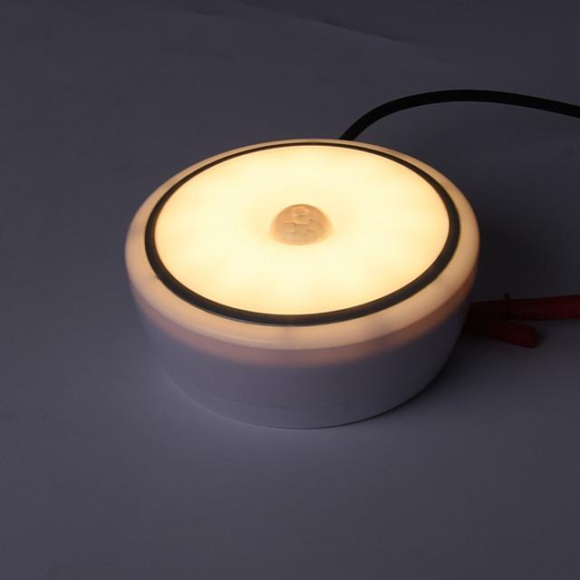 12W PIR Motion Sensor  Acrylic led ceiling light lamp warm white/white modern restaurant /Bathroom Ceiling lamp led lighting