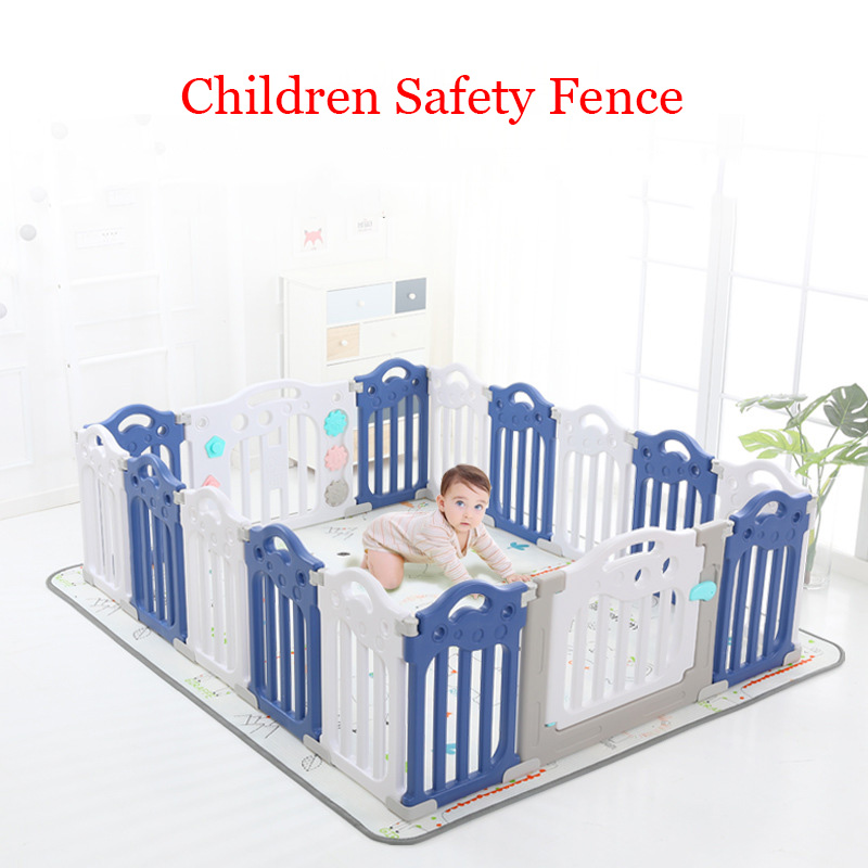 Cercas do bebê esgrima para crianças indor atividade engrenagem proteção ambiental barreira jogo cerca de segurança crianças playground