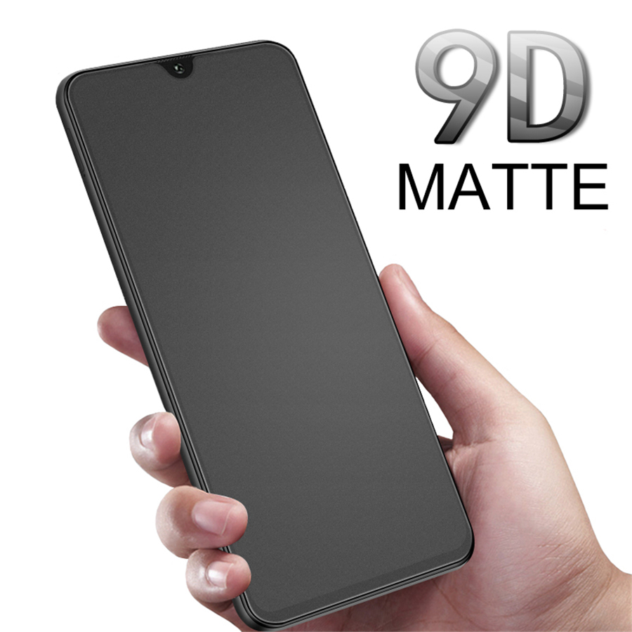 9D Full Glue Matte Glass For Samsung Galaxy A8 2018 Protective Glass On The Galaxy A8 A6 2018 Plus A9 A7 A5 Sweatproof Game Film