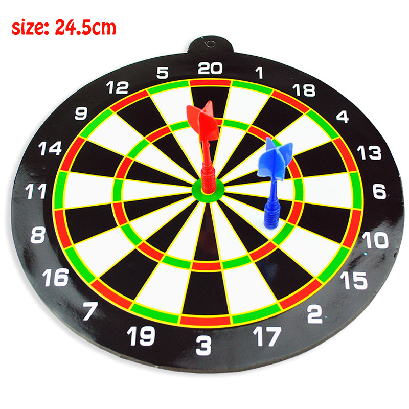 Magnetic Dartboard Sets Kids Toys Safety Game Plastic Double Side Dart Board Toys For Children Adults Boys Sport Toy