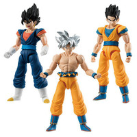 SHODO Action Figure Dragon Ball Z Part 6 Son Goku Ultra Instinct & Gohan & Vegetto Full Set 100% Original