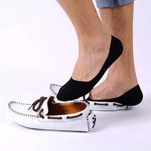 1 pairs Men s Sock Slippers Shallow mouth Non slip Invisible Socks Short Boat Socks Summer
