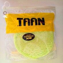 Towel Grip Badminton-Racket TAAN Sweatband Hand-Glue Adhesive Feel Fiber Super-Soft Genuine