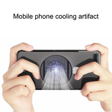 Universal Mobile Phone USB Cooler Cooling Fan Gamepad Holder Stand Bank Radiator Mute Fan For Tablet iphone Xiaomi