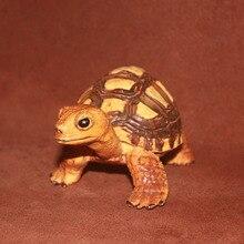 pvc figure Simulation of animal models of plastic toys scene Decoration Big turtle terrestrial turtle