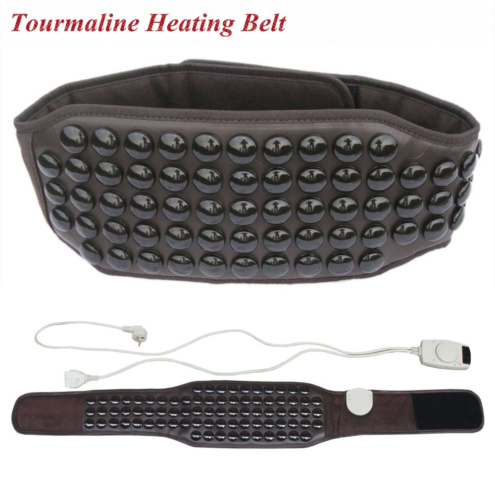 2017 NEW Relieve pain massage heat belt germanium belt tourmaline heating belt healthy waist support Therapy products relieve pain relax massager heat belt infrared therapy heating belt healthy waist support acupuncture digital stimulator device