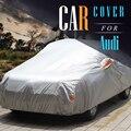 La Cubierta completa de Coches Auto Anti UV Dom Lluvia Nieve Helada Protector de la Cubierta de Polvo prueba Para Audi 100 200 80 90 A1 A3 A4 A5 A6 A8 A8L