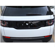 ABS Chrome Gloss Black Rear Tail Decoration Frame Cover Trim For Land Rover Discovery Sport 2015-2017 Car Styling решетка радиатора gloss narvik black для land rover discovery 5