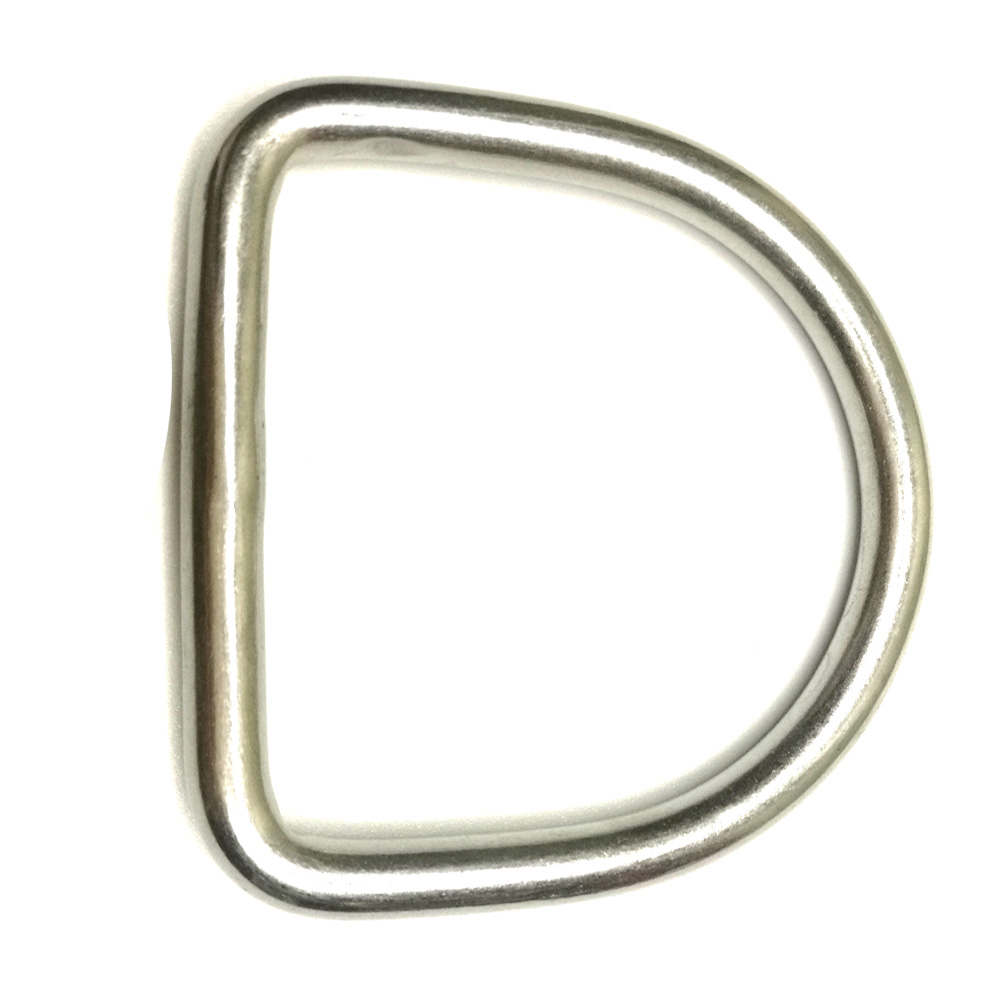 316 Stainless Steel Scuba Dive D Ring Buckle Hook For 5cm Weight Belt Webbing Scuba Diving Surfing Climbing Accessories