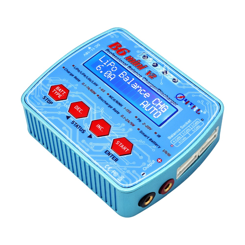 IMAX B6 Mini V2 80 watt 7A Professionelle Digitale RC Modell Balance Ladegerät Entlader für Lipo Lihv LiIon Leben NiCd niMH Batterie HTRC