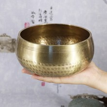 Tibetan handmade Bowl Nepal Singing Ritual Music Therapy Home Decoration Religious Supplies