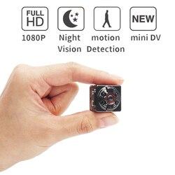 мини камера SQ8 Micro DV Видеокамера Действие Ночное видение Цифровой спортивный DV Беспроводной мини-голос Видео ТВ-выход Камера 1080P 720P камера ви...