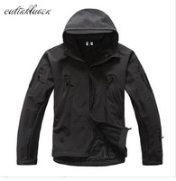 Lurker Shark Skin Soft Shell V4 Military Tactical Jacket Men Waterproof Windproof Warm Coat Camouflage Hooded