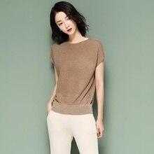 Vintage Wood ears O neck Short sleeve T-shirt 2019 New Woman Slim Fit t shirt tight tee Summer Retro Tops