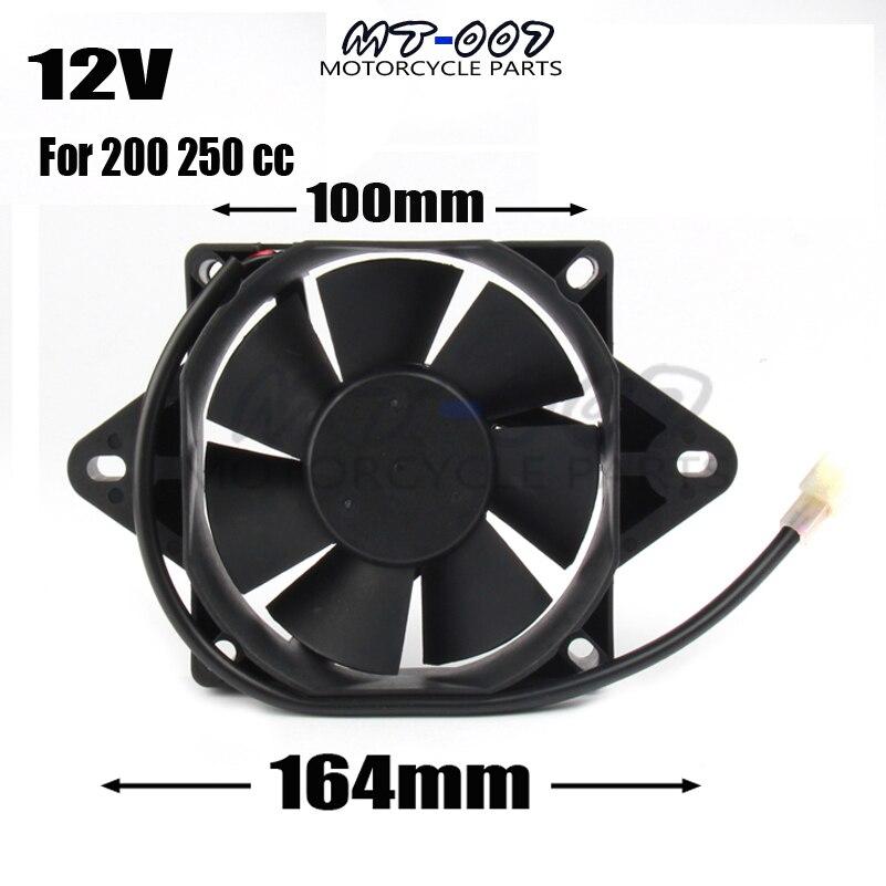 12v Radiator Cooling Fan for ATV Go Kart Buggy Dune Taotao Kazuma Coolster SunL