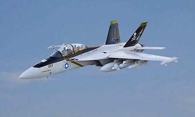 Escala SkyFlight LX RC F18 Jolly Roger KIT Modelo de Avión EPS Jet Doble 70 MM FED