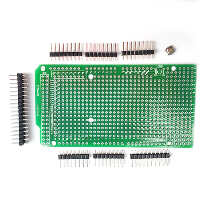 Prototype PCB for Arduino MEGA 2560 R3 Shield Board DIY Drop shipping adeept diy electric new project lcd1602 starter kit for arduino uno r3 mega 2560 pdf free shipping book headphones diy diykit