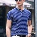 2017 Summer Classic Striped Polo Shirt Men Short Sleeve Polos Casual & Business Tee Shirts Comfortable Poloshirt