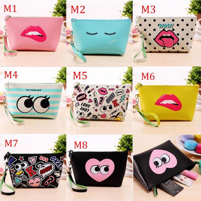 9206cb0707b Fashion Cute Cosmetic Makeup Bag Purse Wash Organizer Pouch Pencil Case Traveling  Bags Hogard. 1 piece free shipping ...