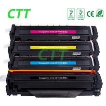 4 color CF400A CF401A CF402A CF403A toner cartridge compatible for HP Color Laserjet M252 M252dw M277n M252N M277dw printer
