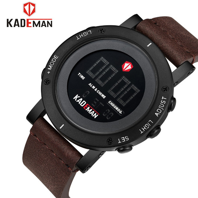 Men's Sports Watches Luxury Male Fashion Waterproof LED Display Digital Military Electronic Watch Men Wristwatches Reloj Hombre