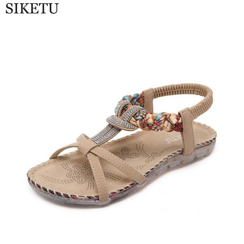 summer women sandals 2017 ladies shoes new flip flops  gladiator sandals women shoes Bohemia flat shoes sandalias mujer z470 new sandals women 2016 summer casual women shoes roman gladiator girls flat sandals ladies white flip flops nice sandals