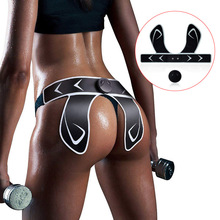 Hip Trainer Muscle Stimulator ABS Buttocks Fitness Butt Lifting Slimming Massager Pads Body Building Training Sticker