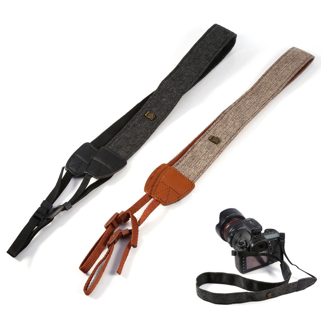 Universal Digital Camera Shoulder Neck Vintage Strap Belt For Sony Nikon Canon Pentax DSLR Quick Strap