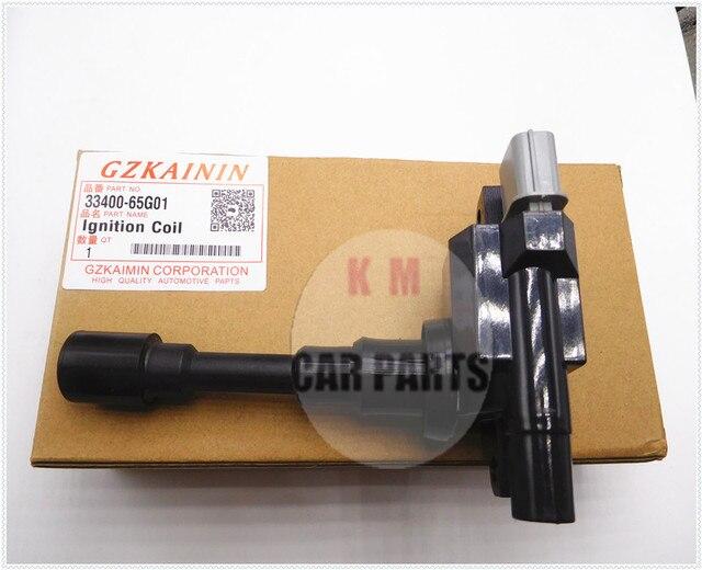 SET 2 100% new Ignition Coil  oem 33400-65G00,33400-65G01 for Suzuki Jimny Liana Swift II III 4WD SX4 4WD Ignis Grand Vitara